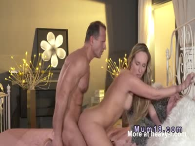 Blonde Milf Passionately Fucked