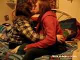 Girls First Time Kissing