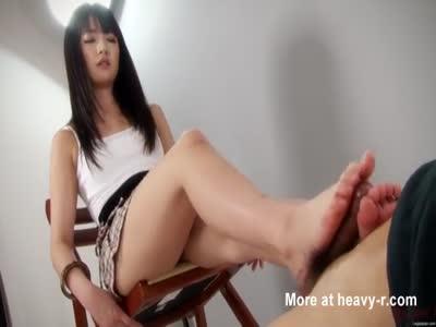 Asian Foot Job
