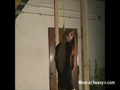 Beautiful Girl Hanged By The Neck