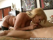 Tempestuous Blonde Milf Gives Head And Gets F...