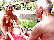 Old Man Had The Luck To Enjoy With Youn Girl ...