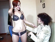 Aged Grandma And Hot Young Woman