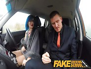Fake Driving School Sexy Emo Gets Her Ass Pou...