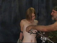 Sexy Blonde Soldier Girl With Great Tits Has ...