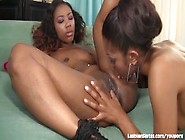Horny Black Girls Playing With Their Toys!