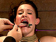 Filthy Siren Gets Tied Up And Suspended Prett...