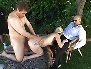 Wife Gets Fucked While Hubby Watches