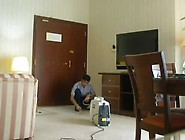 Wife Flashing To Repairman