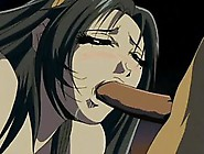 Hentai Lady Is Forced To Feed On A Big Cock T...