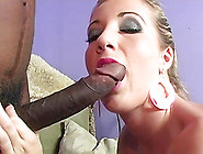 Huge Black Cocks Make This White Girl Cum Her...
