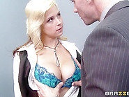 Big Tits At Work: Check Out My Brand New Tits...