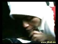 Indonesian Muslim Girl Jilbab Blowjob