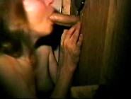 Young Wife Gloryhole Handjob And Blowjob