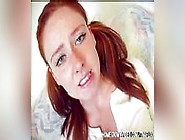 Homegrown Video Redhead Worries His Cock Is T...