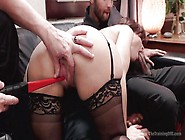 Electric Shocks And Cocks For Her Pussy