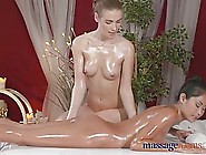 Nude Girls Are Oiled Up And Ready To Make Lov...