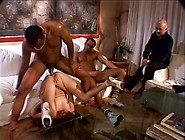 Whore Wife Anal Fucked By Two Black Men In Fr...
