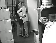Cctv Video Of Amateur Brunette Secretary Ridi...