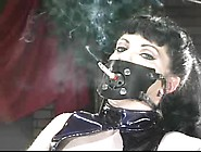 Slave Being Forced To Smoke In Smoking Mask (...