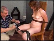 Electric Torture / Woman Tied To A Chair And ...