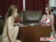 Two Milfs Play A Game Of Strip Blackjack