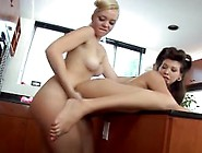 Annette Schwarz Eats Ass And Cums From Smelli...