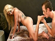 Torrid Blonde Mom Is Nailed Hard Doggy Style
