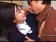 Japanese Asian Schoolgirl Touched By Step Dad