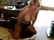 Granny With Saggy Tits Interracial Facesittin...