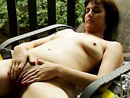Horny Milf Give Herself Several Orgasm Outsid...