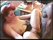 Red Head Woman And Black Man Fuck And Suck