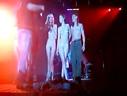 Amateur Girls Strip Nude On Stage Concert