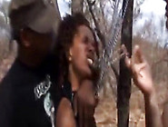 African Slave Gets Forced Into Sucking Outdoo...
