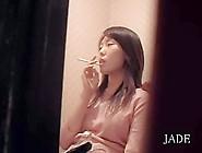 Spy Cam Caught A Spicy Japanese Babe Masturba...