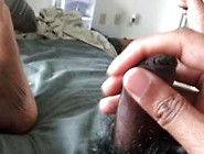 Dick Play During Lunch Break (Tight Foreskin/...