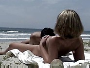 Having Sex On The Beach With People Watching