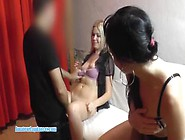 Horny Amatuer Teen Czech Lapdancer Have Three...