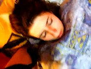 Cum On Sleeping Girl's Face