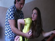 A Busty Harlot Gets Her Clothes Ripped Off An...