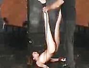 Beutiful Brunette Nicole Bondage Tits Pain Pu...