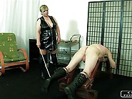 The Sadist Granny Vi - Face Slapping,  Caning...