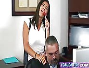 Daughter Fucking Dads Co Worker Office