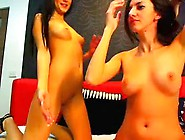 Horny Amateur Clip With Brunette,  Shaved Sce...