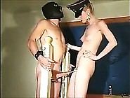 Femdom Fetish Group Of Babes Pegging Their Su...