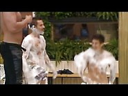Big Brother Guy Gets A Boner In The Hot Tub
