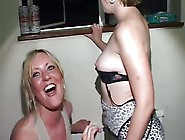 British Wife Cheats At Cfnm Bachelorette Part...