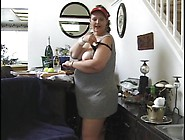Fat Slut Licks The Crotch Of Her Dirty Pantie...