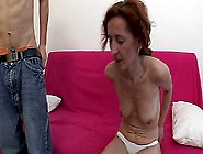 Old Redhead Mature Seduces And Fucks A Young ...