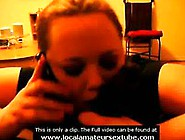 Cheating Bbw Sucks Interracial Dick On Phone ...